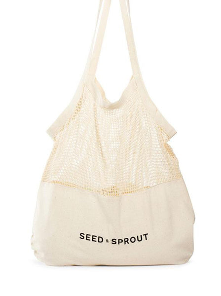 Seed & Sprout Mixed Mesh Tote