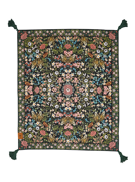 Wandering Folk Picnic Rug - Native Wildflower