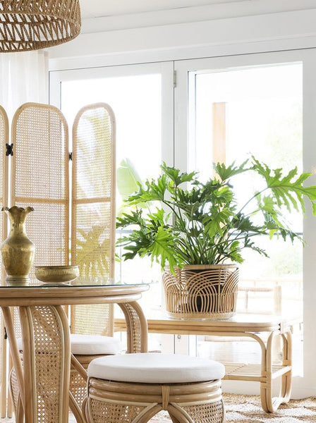 Sunshine rattan basket