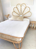 Rattan Sunshine Bed Head Wall hanging