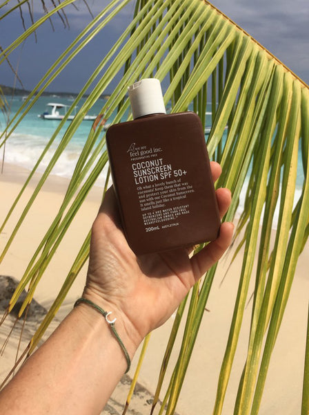 Coconut Sunscreen Lotion SPF 50+ - We Are Feel Good Inc.
