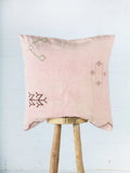 Cactus silk & Cotton Cushion