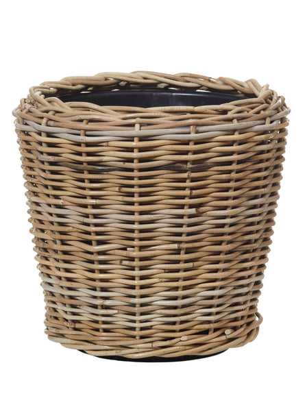Rattan Pot with Tub