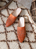Moroccan Leather Slides