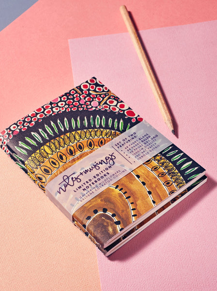 Art Circus Notes + Musings Limited-Edition Notebook Sets – Wild Flower