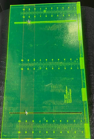 "AQSR 10 1/2"" (Adjustable Quilt Strip Ruler)"