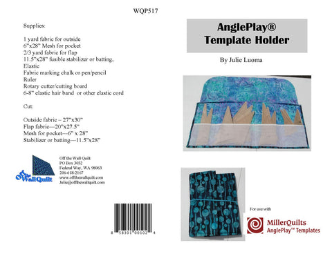 AnglePlay® Template Caddy Pattern
