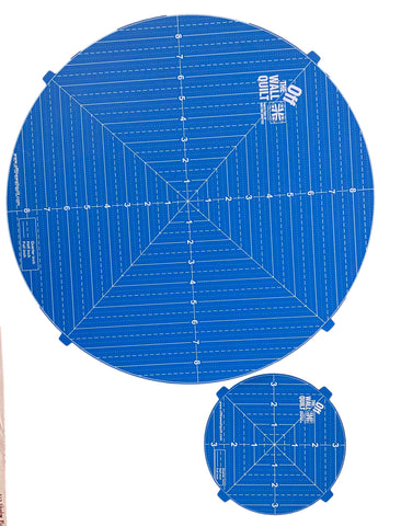 "Rotating Cutting Mat Set (18"" & 7"")"