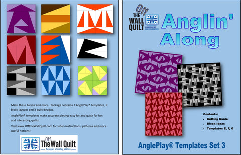 AnglePlay® Templates Set Three (Anglin' Along)