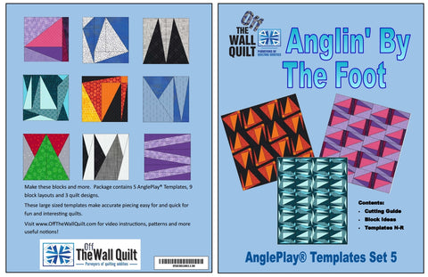 AnglePlay® Templates Set Five (Anglin' By The Foot)