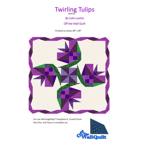 Pattern: Twirling Tulips