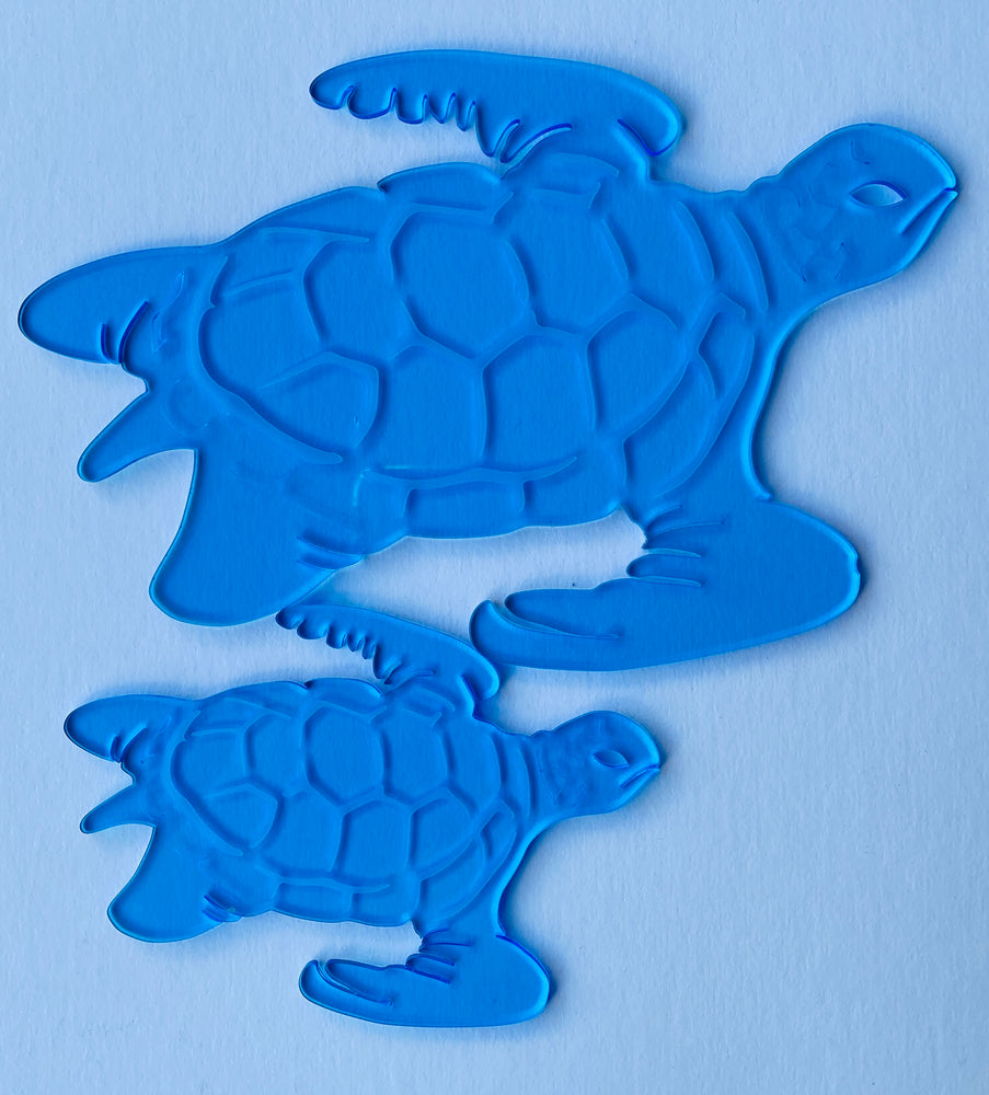 "Turtle Template Set (1/8"" Thick)"