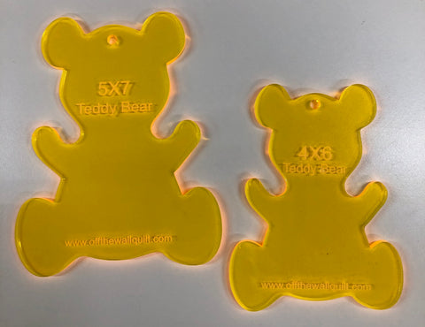 Teddy Bear (Set of 2) for Quilting