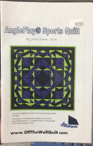 Pattern: AnglePlay Sports Quilt