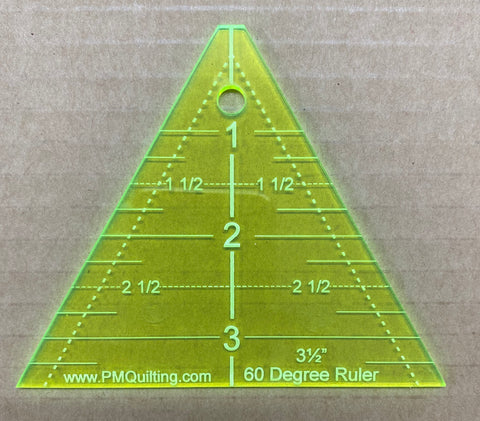 "Triangle 60 Degree 3 1/2"" (1/8"" Thick)"