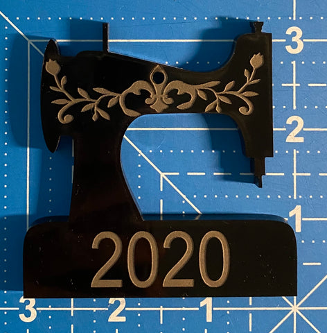 Vintage Sewing Machine Ornament 2020
