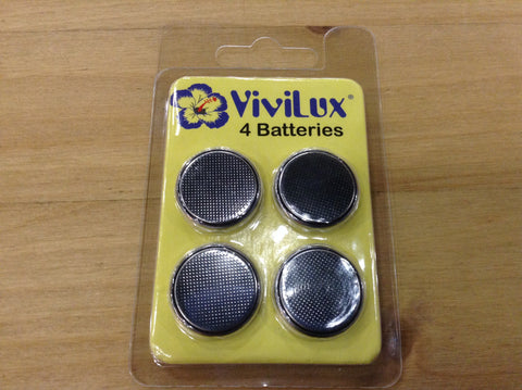 Vivilux 2032 batteries (qty 4)