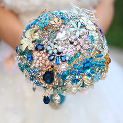 Bouquet  crystal  custom made # 0037
