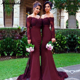 Lace Ladies Prom Formal Gowns