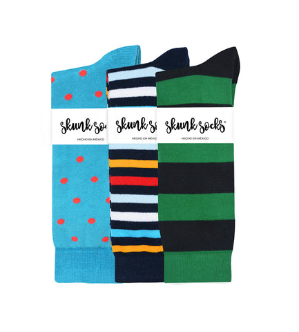 Skunk Socks - Paquete 5