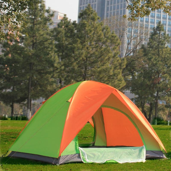 2 Person Camping Tent with Double Layers (2 Doors)