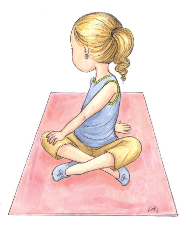 12 Illustrations To Teach Kids Yoga Poses