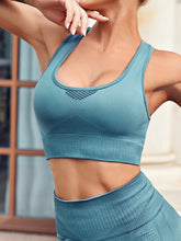 Load image into Gallery viewer, SH505 Cut Out Back Sports Bra & Leggings