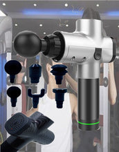 Load image into Gallery viewer, Cordless EMS Massage Gun for muscle toning