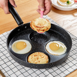 Four-hole Omelet Pan nonstick pan