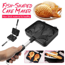 Load image into Gallery viewer, Non-Stick Taiyaki Fish-Shaped Waffle Pan