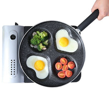 Load image into Gallery viewer, 4 holes Heart-Shaped Non-Stick Frying Pan