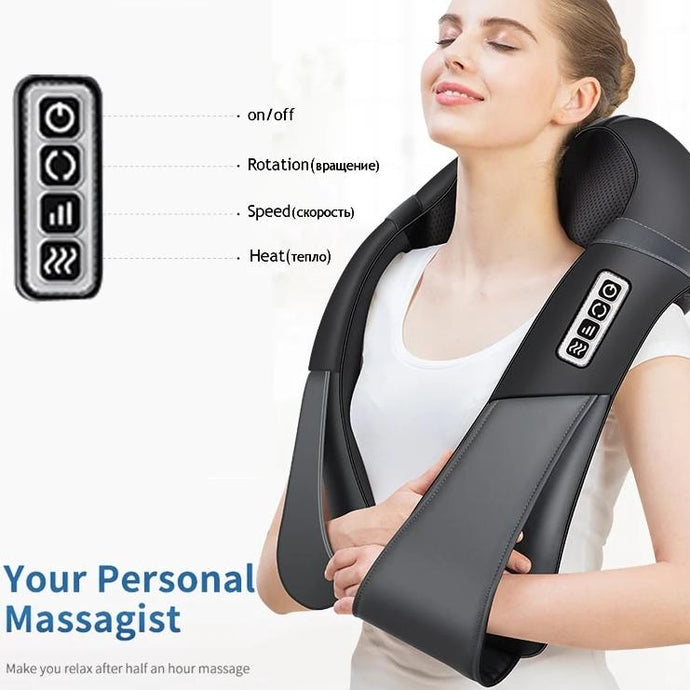 U Shape Electrical  Body Massager with Infrared Heating