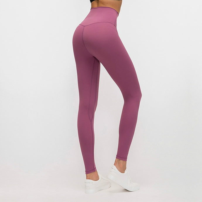 Buttery-soft Naked-Feel Four-Way Stretch Yoga Legging