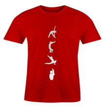 Load image into Gallery viewer, Men O-Neck Yoga Poses T-Shirt