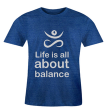 Load image into Gallery viewer, Men O-Neck Balance T-Shirt
