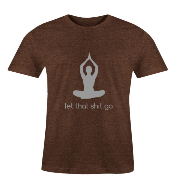 Men O-Neck Let Go T-Shirt