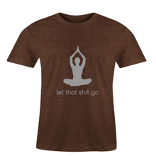 Load image into Gallery viewer, Men O-Neck Let Go T-Shirt