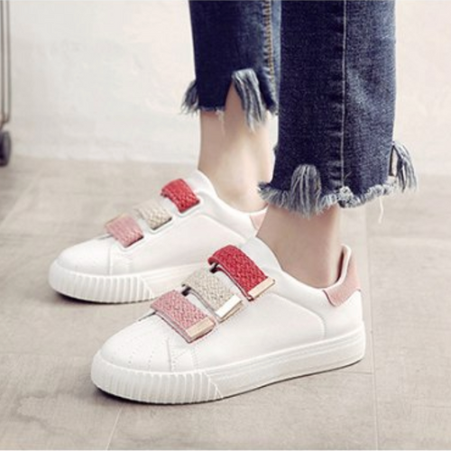 WS55 Cute Style Hollow-out Sneakers