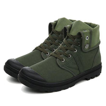 Load image into Gallery viewer, MB07 Canvas High Top Ankle Boot