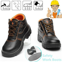 Load image into Gallery viewer, SFS12 Waterproof, electrical resistance Steel Toe Construction Safety Boot