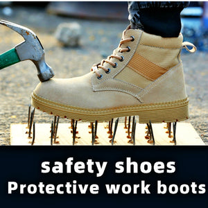 SFS14 Cow Leather Bulletproof Soles Steel Toe Safety Boot