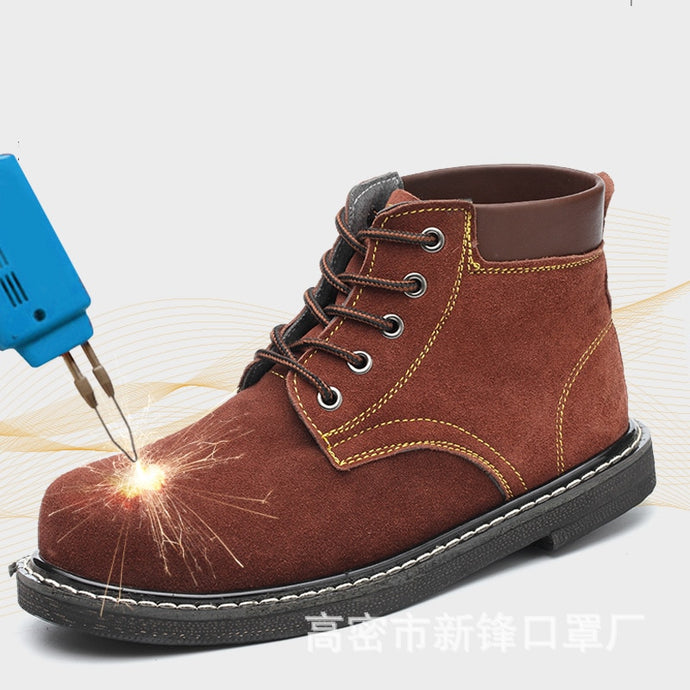 SFS09 Safety shoes high temperature resistant Welder Shoe