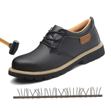 Load image into Gallery viewer, SFS13 Genuine Cow Leather Steel Front fashion Safety Shoe