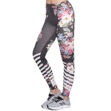 Load image into Gallery viewer, PL05 Multicolor Pattern 3D Printing legging