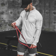 Load image into Gallery viewer, GJ70 Long Sleeve Hoodies Gym Sweatshirt