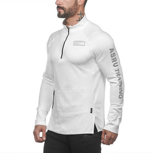 GJ70 Long Sleeve Hoodies Gym Sweatshirt