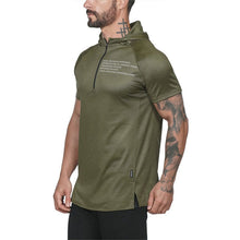 Load image into Gallery viewer, GT70 Zipper Neck Gym Hoodies