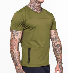 GT81 Workout Solid Gym Tee