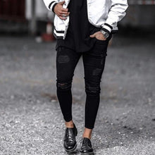 Load image into Gallery viewer, MD35  Cool Designer Brand Skinny Ripped Jeans