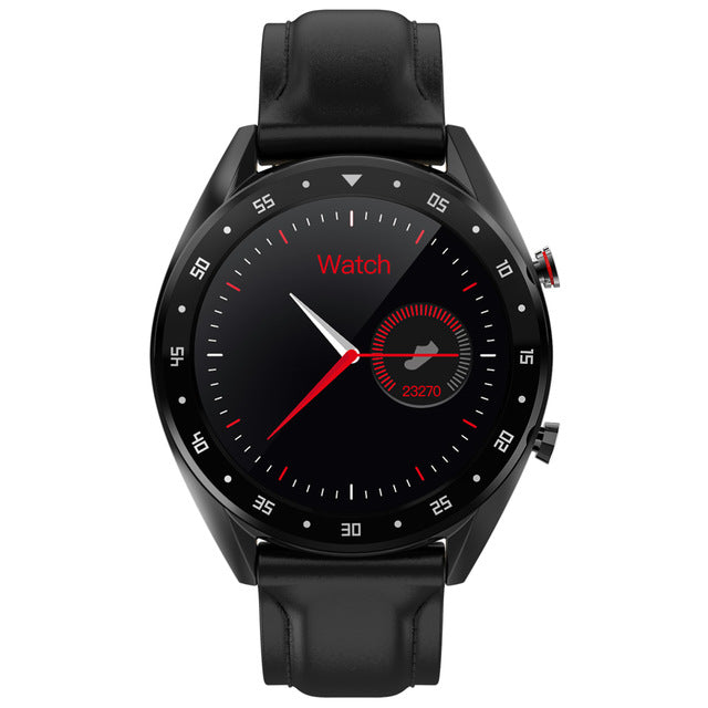 SWL-EC05 PPG + ECG Full Round Touch Screen Ip68 Waterproof  Smartwatch